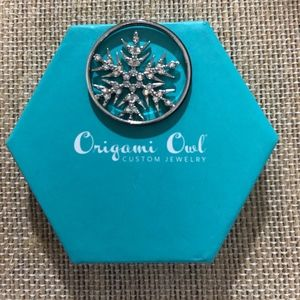 Origami Owl Holiday Window Plate